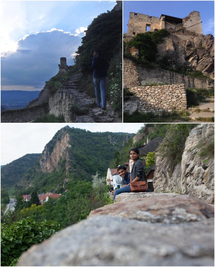 krems ruins castle