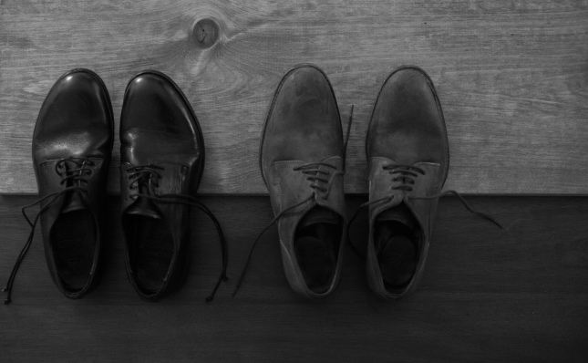a pair of Oxfords