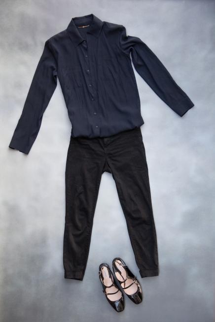 Silk shirt by The Row