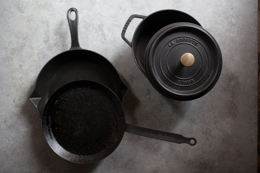 Zero Waste cast iron skillet
