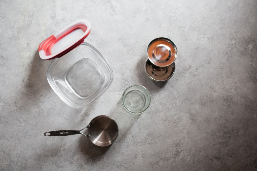 Zero Waste glass steel containers