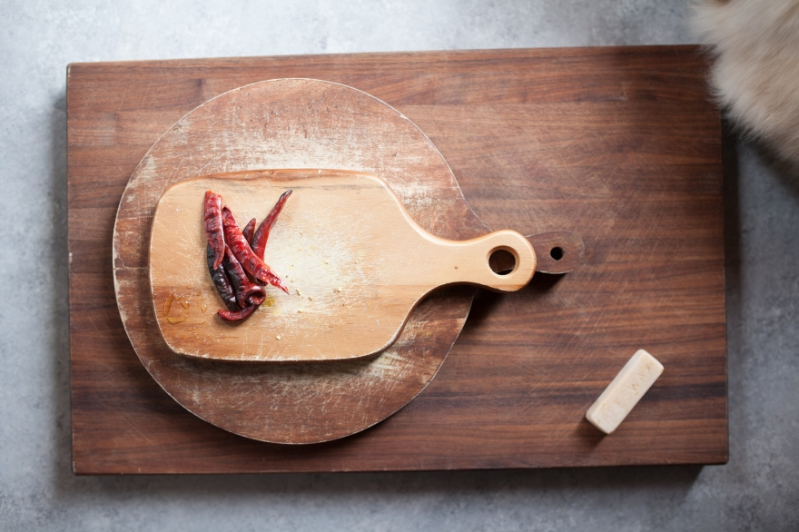 Zero Waste wooden cutting boards